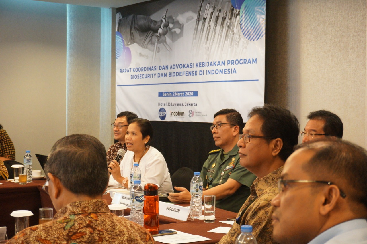 Coordination of Biosafety and Biodefense Policies in Indonesia